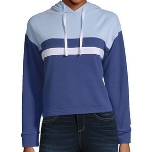 Long Sleeve French Terry Hoodie - Sizes S & L